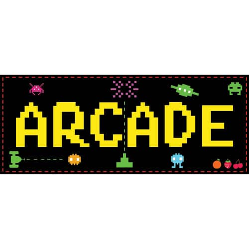 Retro Arcade Decoration 50cm Product Image
