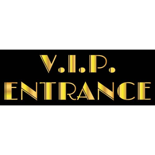 Vip Entrance Decoration - 50cm