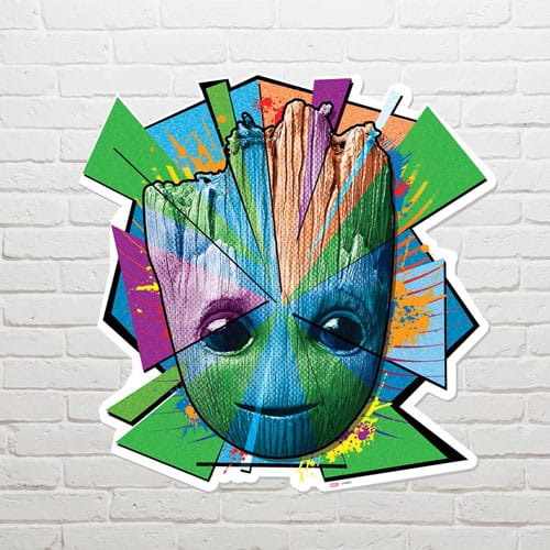 Guardians of the Galaxy Groot Mosaic Wall Art 65 x 65cm Product Image