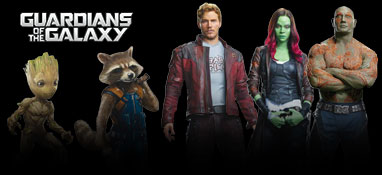 Guardians Of The Galaxy Lifesize Cardboard Cutouts