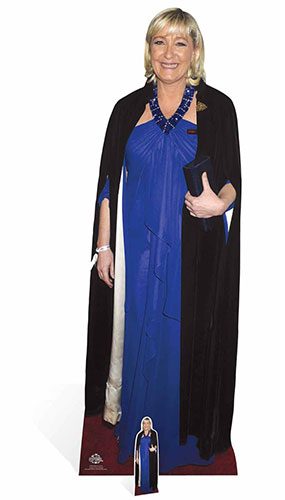 Marine Le Pen Lifesize Cardboard Cutout - 170cm Product Gallery Image