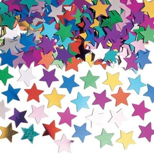 Multi Colour Star Table Confetti - 14 Grams
