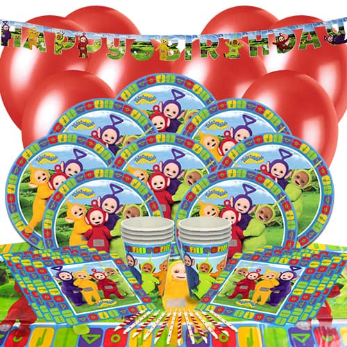 Teletubbies 8 Person Delux Party Pack
