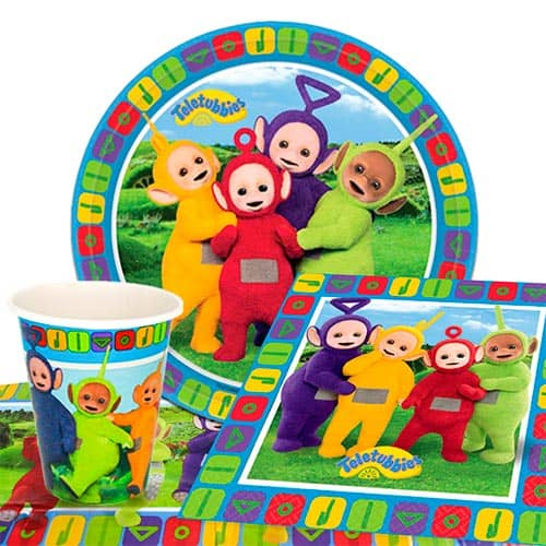 Teletubbies 8 Person Value Party Pack