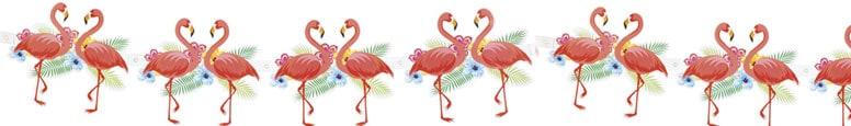 Aloha Flamingo Design Garland 300cm