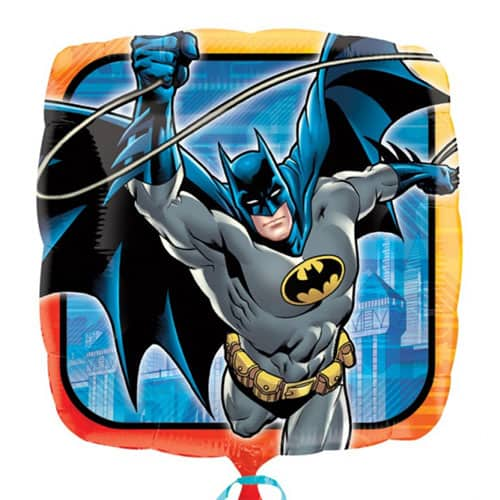 Batman Square Foil Helium Balloon 43cm / 17Inch