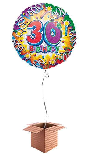 birthday-explosion-30th-birthday-46cm-round-foil-balloon-in-a-box-image