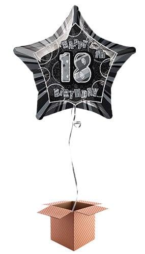 black-glitz-age-18-happy-birthday-20-inch-prismatic-foil-balloon-in-a-box-image