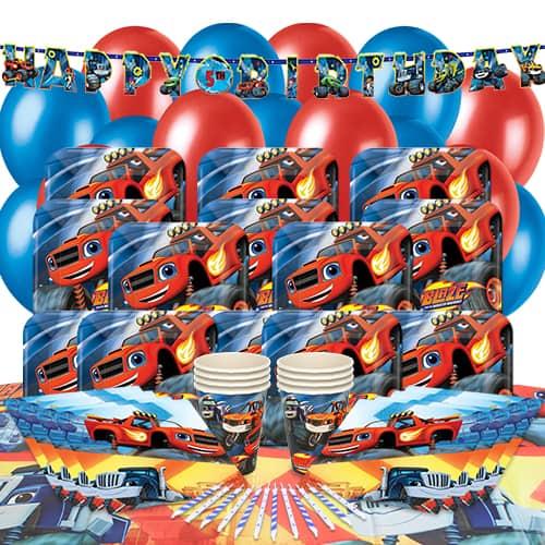 Blaze Theme 16 Person Delux Party Pack