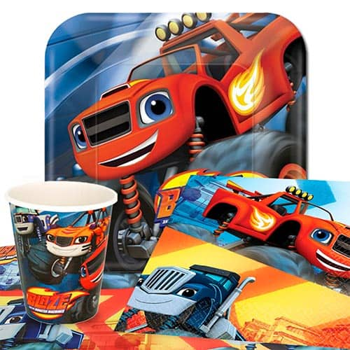 Blaze Theme 8 Person Value Party Pack