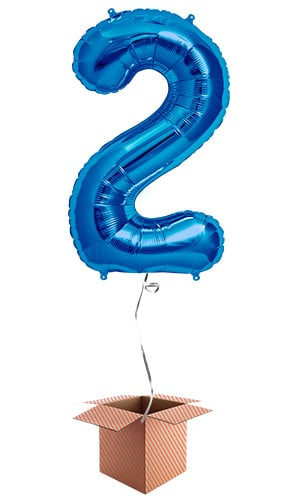 blue-number-2-supershape-86cm-foil-balloon-in-a-box-image