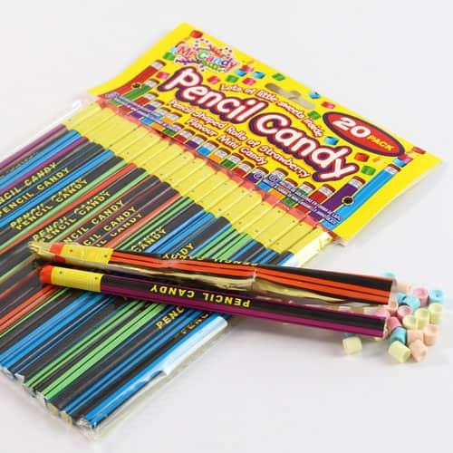 Candy Pencil Sweet Pack Of 20