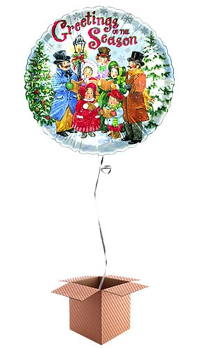 christmas-carolers-18-inch-foil-balloon-in-a-box-image