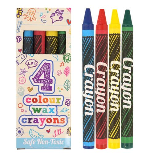 Crayons in a box - Pack of 4