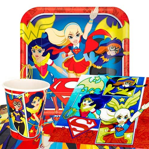 DC Super Hero Girls 8 Person Value Party Pack
