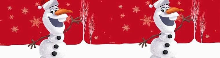 Disney Frozen Olaf Christmas Party Supplies