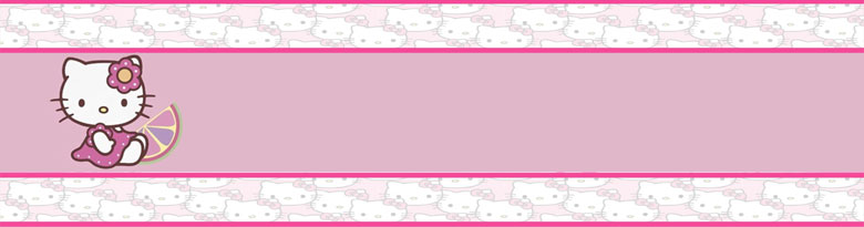 Hello Kitty Bamboo Party Supplies Top Image