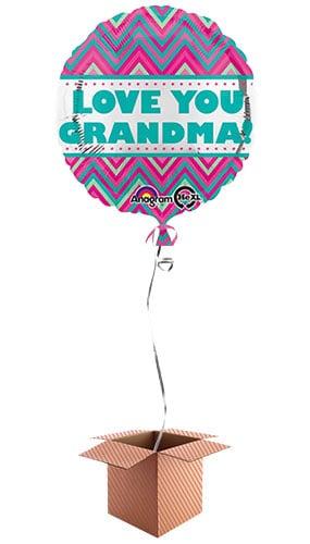 love-you-grandma-43cm-round-foil-balloon-in-a-box-image