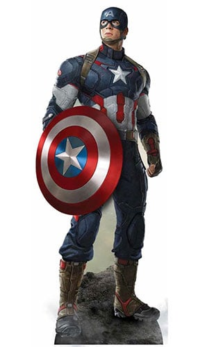 marvel-avengers-age-of-ultron-captain-america-lifesize-cardboard-cutout-190cms-product-image