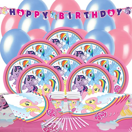 My Little Pony 16 Person Delux Party Pack
