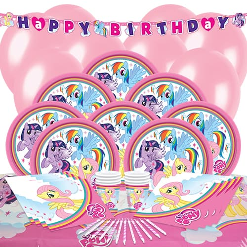 My Little Pony 8 Person Delux Party Pack