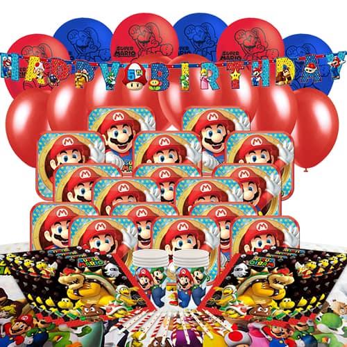Nintendo Super Mario 16 Person Delux Party Pack