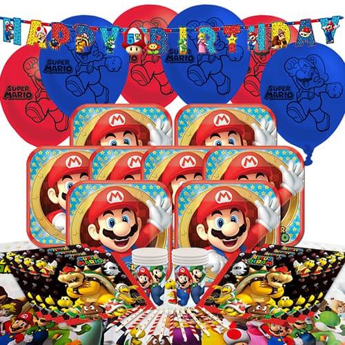 Nintendo Super Mario 8 Person Delux Party Pack