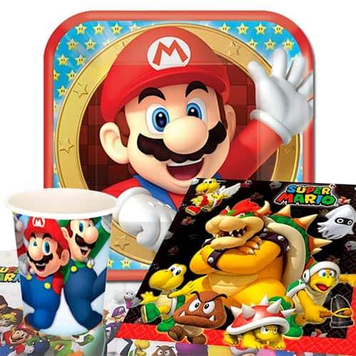 Nintendo Super Mario 8 Person Value Party Pack