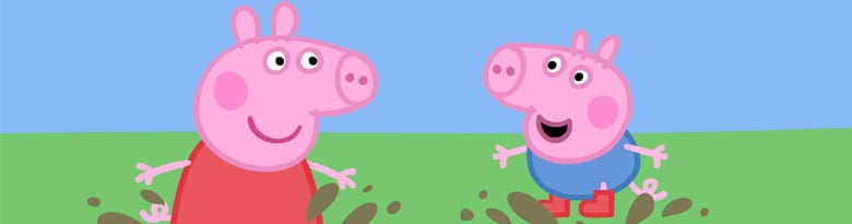 Peppa Pig Party Supplies Top Image