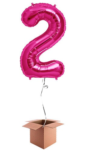 pink-number-2-supershape-86cm-foil-balloon-in-a-box-image