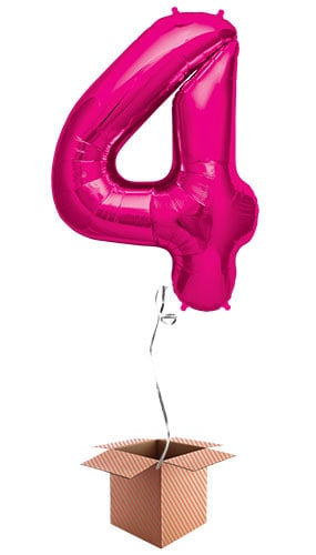 pink-number-4-supershape-86cm-foil-balloon-in-a-box-image