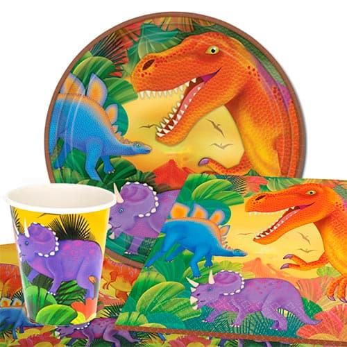 Prehistoric 8 Person Value Party Pack