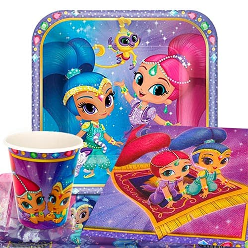 Shimmer And Shine 8 Person Value Party Pack