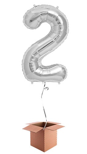 silver-number-2-supershape-86cm-foil-balloon-in-a-box-image