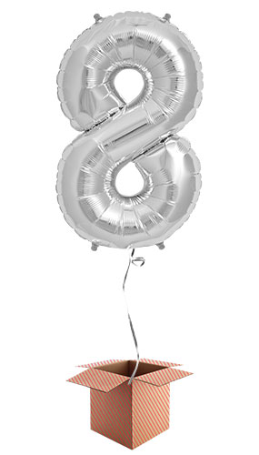 silver-number-8-supershape-86cm-foil-balloon-in-a-box-image
