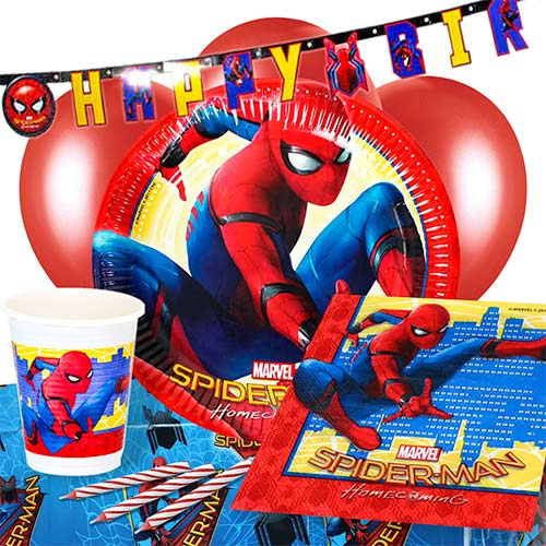 spiderman-theme-party-supplies-8-person-delux-party-pack