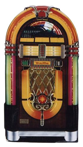 Wurlitzer Jukebox Lifesize Cardboard Cutout - 152cm Product Gallery Image