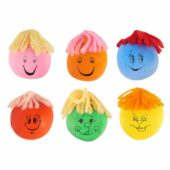 Assorted Designs Squeezy Face 3cm