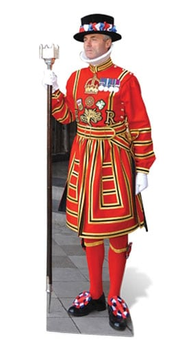 Beefeater Lifesize Cardboard Cutout - 173cm Product Gallery Image