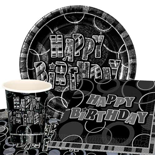 black-glitz-100th-birthday-party-supplies-8-persons-value-party-pack
