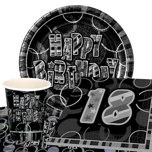 black-glitz-18th-birthday-party-supplies-8-persons-value-party-pack