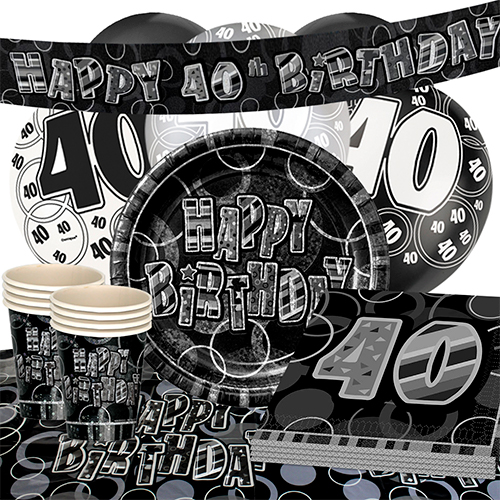 black-glitz-40th-birthday-party-supplies-16-person-deluxe-party-pack