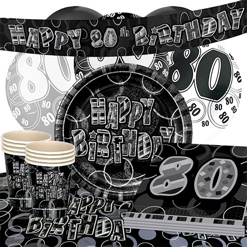 black-glitz-80th-birthday-party-supplies-16-person-deluxe-party-pack