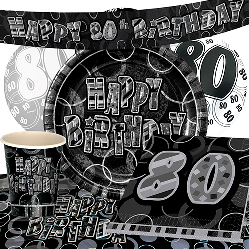 black-glitz-80th-birthday-party-supplies-8-person-deluxe-party-pack