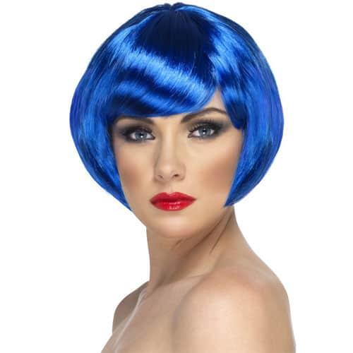 Blue Babe Wig