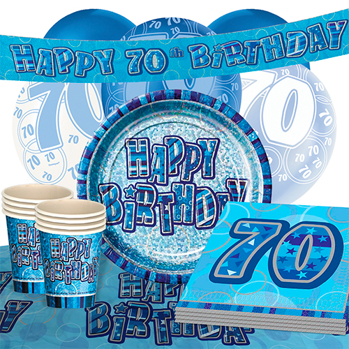 blue-glitz-70th-birthday-party-supplies-16-person-deluxe-party-pack