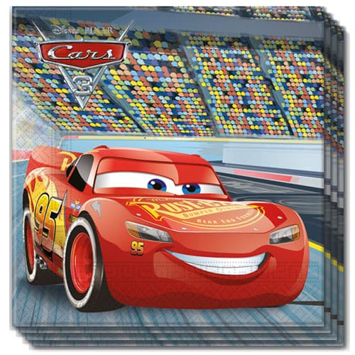 disney-cars-paper-napkins-2-ply-33cm-pack-of-20-product-image