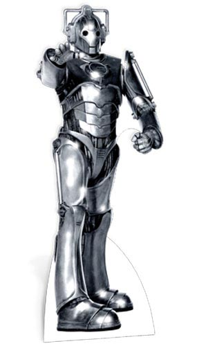 Dr Who Cyberman Lifesize Cardboard Cutout - 183cm Product Gallery Image