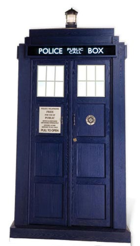 Dr Who Tardis Lifesize Cardboard Cutout - 192cm Product Gallery Image
