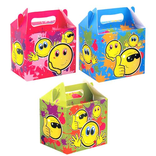 Emoji Assorted Designs Party Box